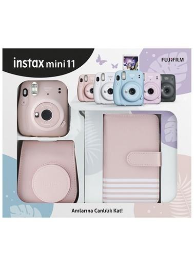 Fujifilm İnstax Mini 11 Laporta Albümlü Pembe Kit Pembe